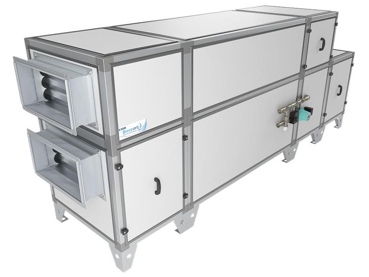 ПВУ Breezart Aqua RP с рекуператором и водяным калорифером